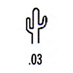 Southwest Design Stamp S-3