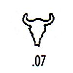 Southwest Design Stamp S-7