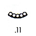 Southwest Design Stamp S-11