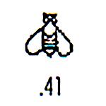 Millennium Stamp M41