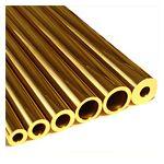 Round Tube - Brass
