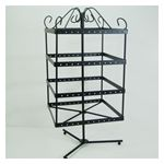 Square Black Rotating Earring Stand