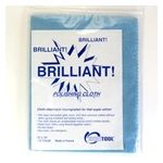 "Brilliant Polishing Cloth 12"" x 15"""