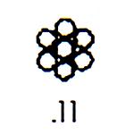 Contemporary Design Stamp C11