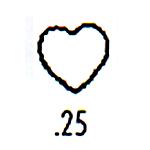 Contemporary Design Stamp C25