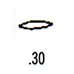 Contemporary Design Stamp C30