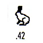 Contemporary Design Stamp C42