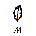 Contemporary Design Stamp C44