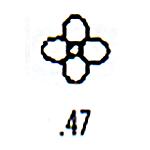 Contemporary Design Stamp C47
