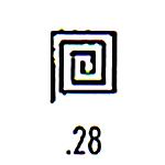 Millennium Stamp M28
