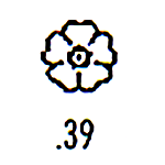 Millennium Stamp M39