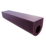 """purple flat tube 1 1/4"""""""